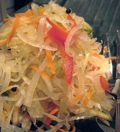 Atchara (Pickled Green Papaya) Filipino Recipe!!!