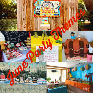 6 June Kids' Birthday Party Themes – FREE Printables