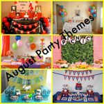 6 August Kid's Party Themes