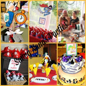6 October Kid's Party Themes