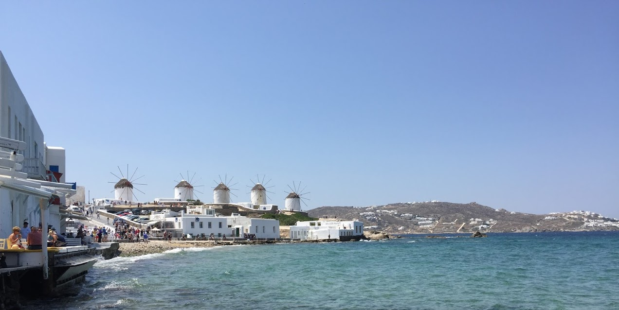 Getting Around from the Mykonos Cruise Port