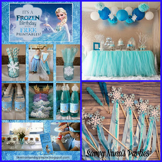 Winter Birthday Frozen Party
