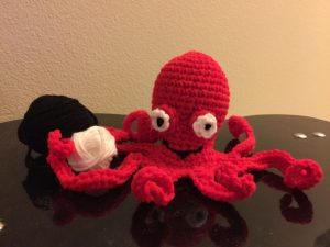 15 Free Crochet Octopus Patterns ⋆ DIY Crafts | 225x300