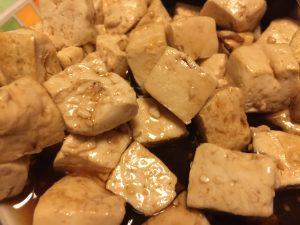 Sesame Tofu Side Dish