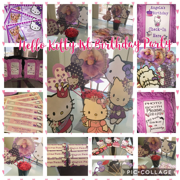 Hello Kitty Themed First Birthday Party – Lot's of Fun Ideas!