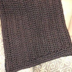 chunky yarn baby blanket