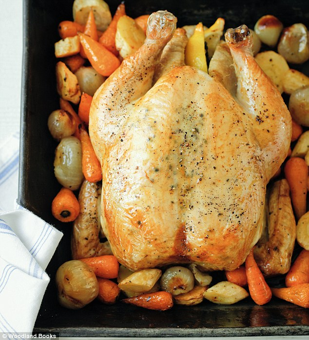 Mary Berry food special: Whole roasted garlic chicken
