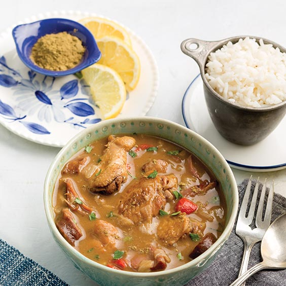 Andouille Sausage and Smoked Chicken Gumbo Recipe