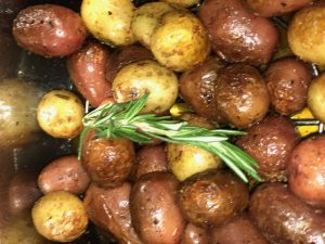Instant pot rosemary roasted potatoes