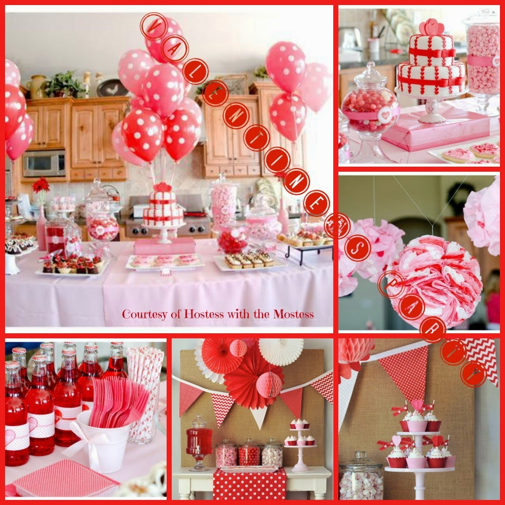 A Valentines Day Themed Party Is Popular For February Birthdays