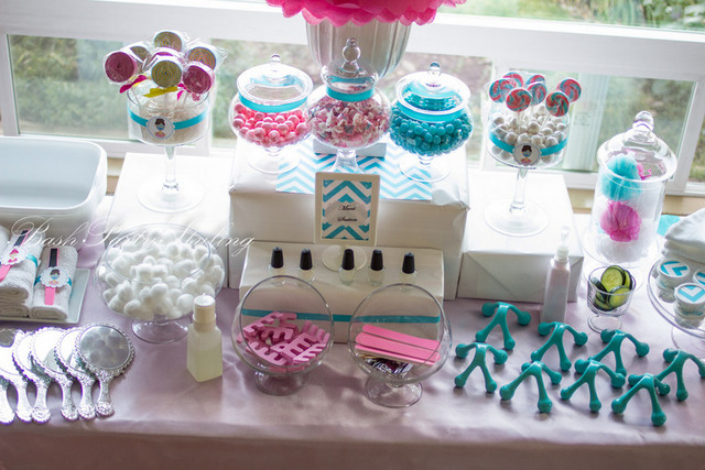 DIY Spa Birthday Party & Cookie Recipe