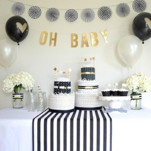6 Baby Showers Themes