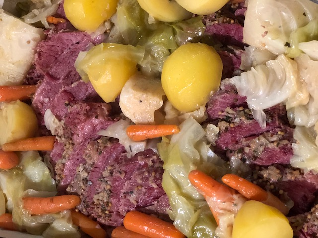Instant Pot Corned Beef & Cabbage