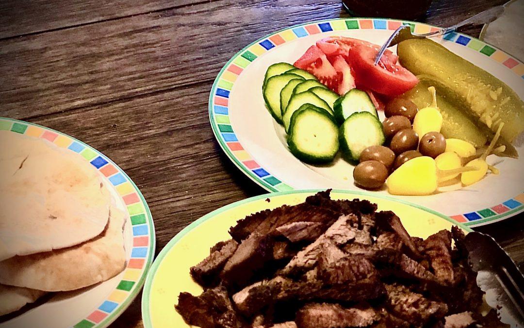 Instant Pot Beef Shawarma