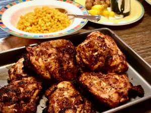 Best Ever Barbecued Chicken – Homemade BBQ Sauce