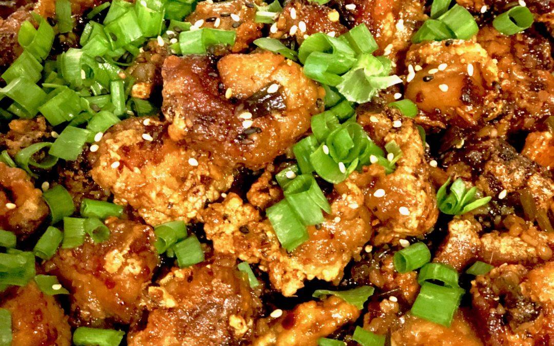 Asian Garlic Fried Chicken