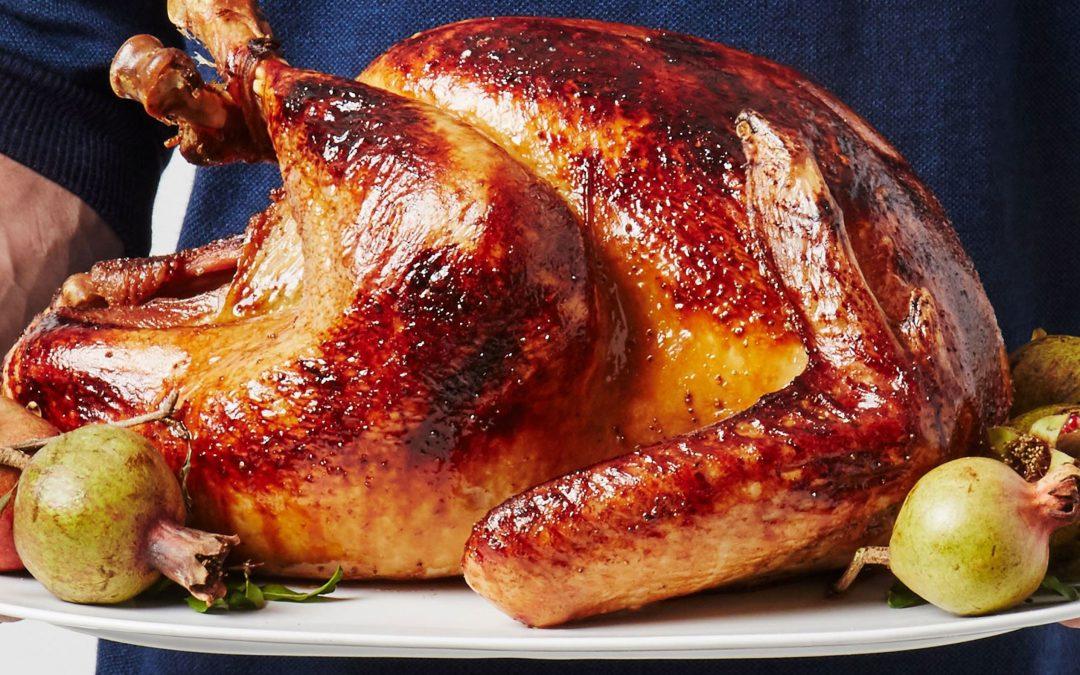 Easy Roast Turkey with No-Roux Gravy
