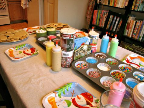 Christmas Cookie Decorating Party – Vegan Sugar Cookie Recipe