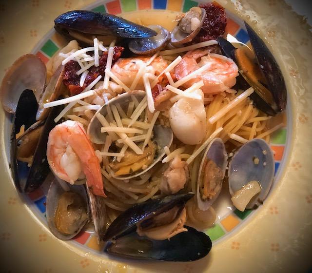 Spaghetti ai Frutti de Mare – Seafood Spaghetti