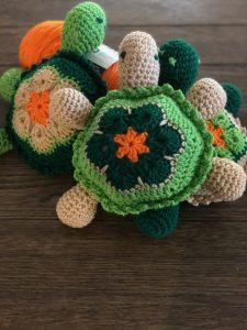 Crocheted Turtle Plushy Toy – Free Pattern
