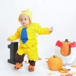 DIY Toddler Costume - Chick Magnet