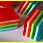 Colorful Layered Jello