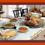 Savvy Nana's Thanksgiving Dinner Menu