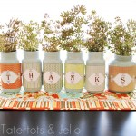 Fall Decorating with Mason Jars