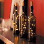 DIY Up-Cycled Wine Bottles