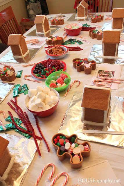 Gingerbread House & Cookie Decorating Party – Vegan Gingerbread Recipe