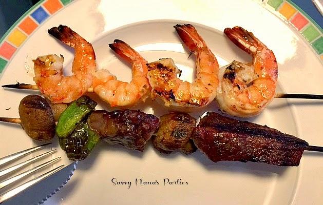 The Best Shrimp Kebobs
