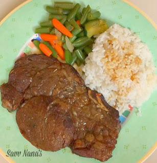 Pan Seared Herbed Rib-Eye Steak