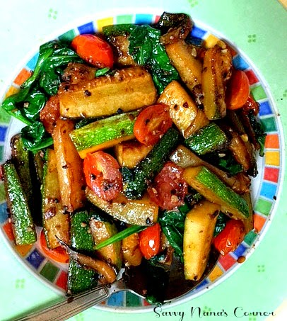 Healthy & Yummy Zucchini Stir Fry