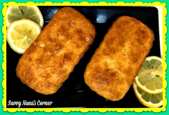 Lemon Chip Mini Loaf Cakes
