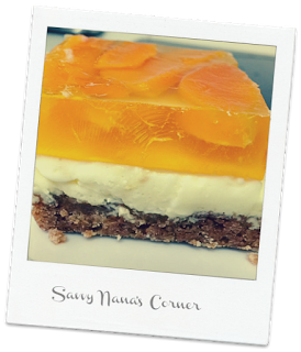 Mango Cream Cheese Dessert