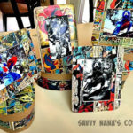 DIY Comic Strip Frames & Boxes for Father's Day