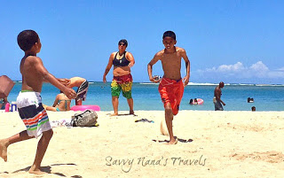 A Day at the Beach with Kids on Oahu