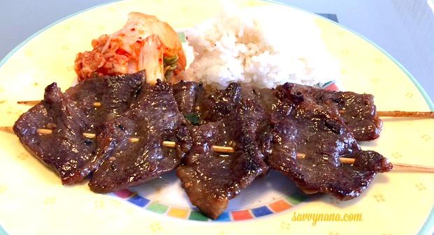 Boneless Beef Short Rib Kalbi Kabobs