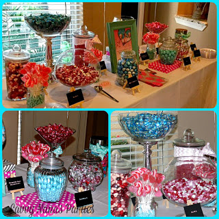 Diy Candy Buffet Savvy Nana