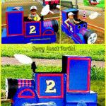 DIY Thomas the Train Photo Booth