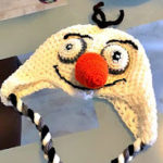 DIY  Frozen Olaf Inspired Crocheted Hat with Earflaps - FREE Pattern