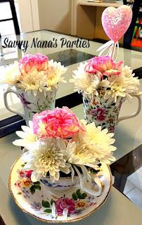Cute & Easy Teacup Floral Centerpieces