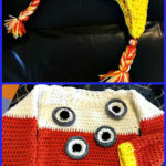 "Crochet Toddler Halloween Costume - ""Eye Candy"""