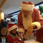 Breakfast with Santa in Honolulu