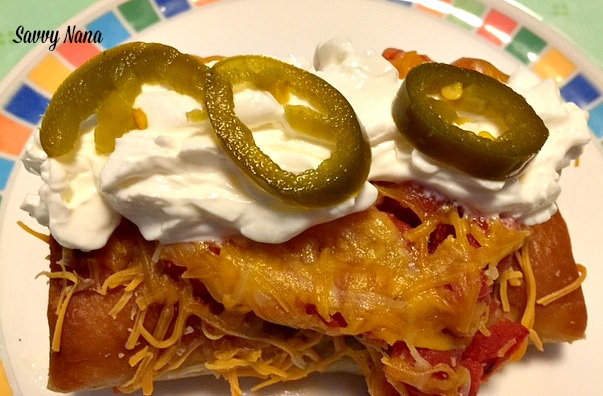 Baked Chimichanga – The Easy Way
