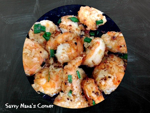 Easy Salt & Pepper Shrimp Recipe