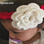 Shell Pattern Baby Headband - Free Pattern