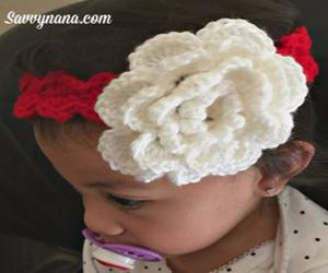 Shell Pattern Baby Headband – Free Pattern