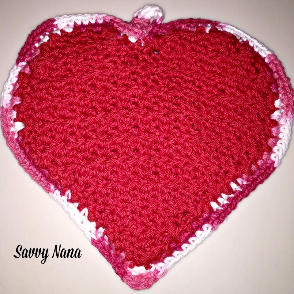 Valentine Heart Hot Pads