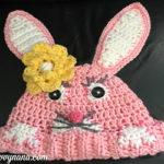 Peek-A-Boo Bunny Hat - Free Pattern